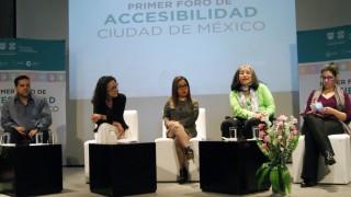 Se lleva a cabo el Primer Foro de Accesibilidad de la Ciudad de México